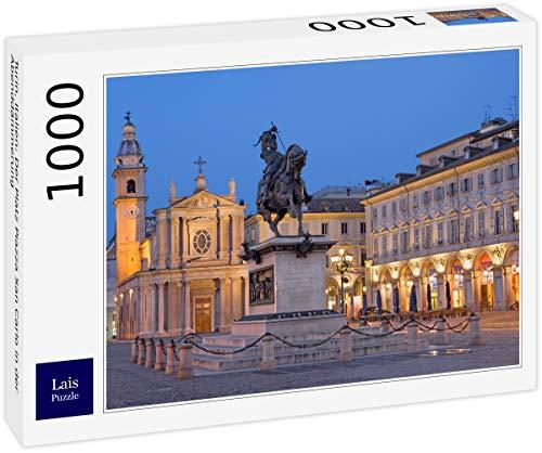 Lais Puzzle Torino, Italia: Piazza San Carlo al Tramonto 1000 Pezzi
