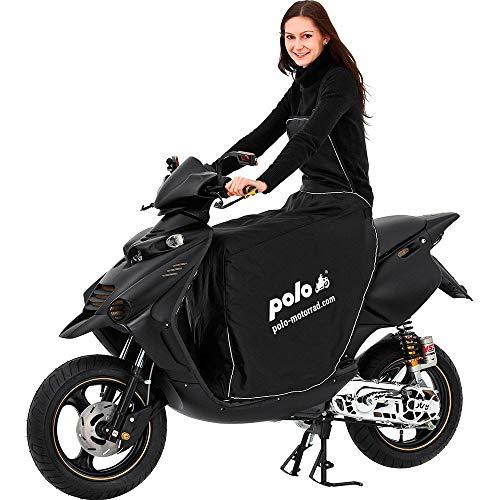 Polo Motorradabdeckung Motorradplane Motorradgarage Beinschutz Roller universal Bein-/Wetterschutz Motorroller, Roller Regenschutz Motorroller, Nässeschutz, schützt vor Wind, Regen und Kälte