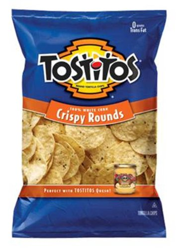 Tostitos Crispy Rounds Chips - 13oz