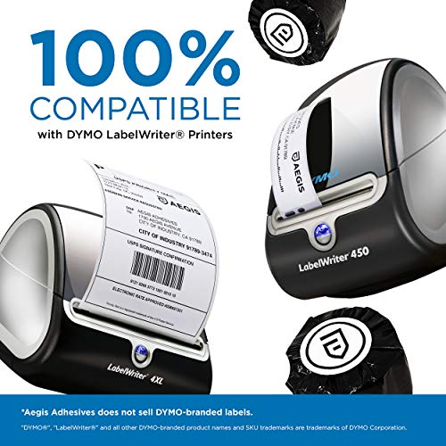 "Aegis - Compatible 30334 (2-1/4"" X 1-1/4"") Direct Thermal Labels Replacement for DYMO 30334 Barcode, UPC, FBA - for Rollo, Labelwriter 450, 4XL & Zebra Desktop Printers (12 Rolls) Photo #7"