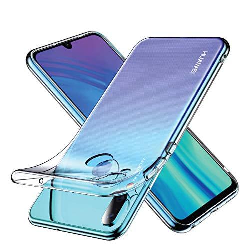 Youriad Huawei nova lite3 ケース カバー | 透明 クリア ソフト カバー| 特徴 軽量 インチ 薄型 ストラップ 滑り止め ワイヤレス充電対応 落下防止 TPU(Huawei nova lite3 カバー 専用)