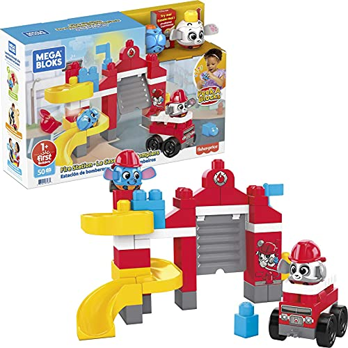 Mega Bloks Peek Blocks Estación de bomberos