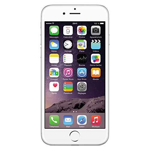 Apple iPhone 6 64 Argent Reconditionné [Remade In France]