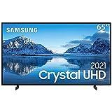 Samsung Smart TV 65' Crystal UHD 4K 65AU8000, Painel Dynamic Crystal Color, Design slim, Tela sem limites, Visual Livre de Cabos, Alexa built in, Controle Único