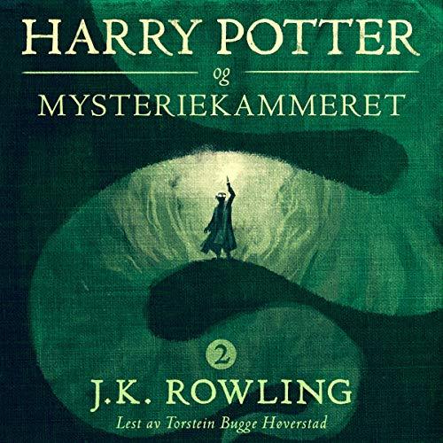 Harry Potter og Mysteriekammeret audiobook cover art
