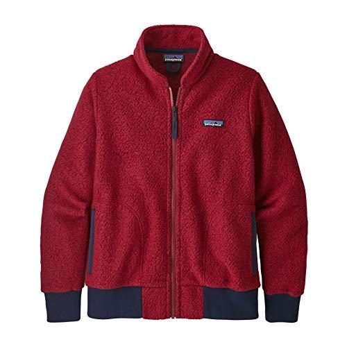 Patagonia Damen W's Woolyester Fleece Jkt Jacke, Molten Lava, L