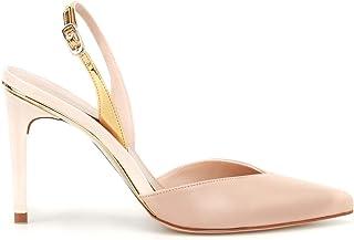 Luxury Fashion | Stuart Weitzman Women STREAMLINESNUDE Pink Leather Sandals | Season Outlet