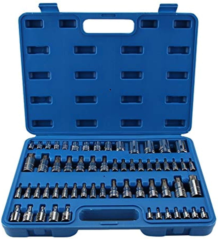 HarveyRudol85 Tragbare 60Pcs E-Sockel & Torx Bit-Socket Set Multifunktionale Multifunktionale Multifunktionale Rost- Kit B07PNN72TT | Vorzügliche Verarbeitung  c48134