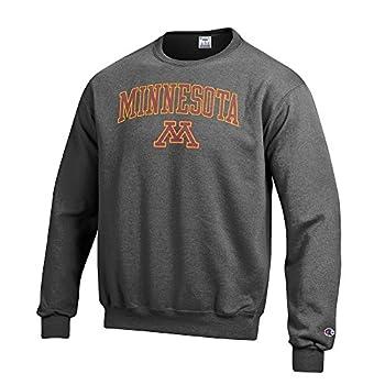 Elite Fan Shop Minnesota Golden Gophers Crewneck Sweatshirt Varsity Charcoal - X-Large