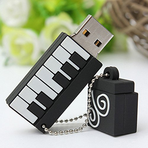 MECO 8/16/32 GB USB-stick 2.0 Flash Drive opslag Mini Piano Gift 16G