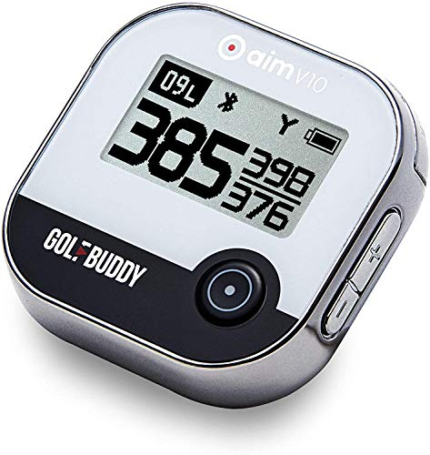 GolfBuddy V10 GPS de Golf Mixte, Chrome, Taille Unique