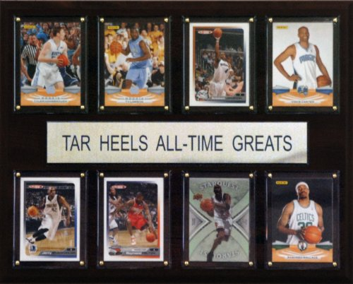 NCAA Basketball North Carolina Tar Heels All-Time Greats Plaque
