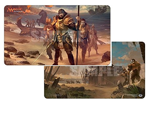 Ultra Pro Ixalan, Legion's Landing/Adanto, The First Fort Double Sided Playmat for Magic