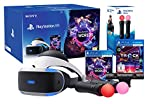 PlayStation VR 'Starter Music Pack' + VR Worlds + Mandos Move Twin...