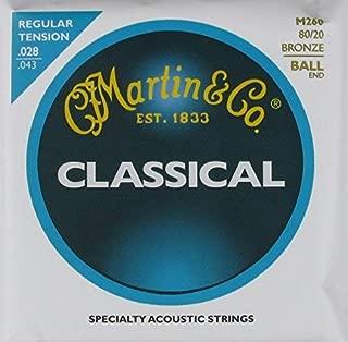 C.F. Martin Classical Guitar Bronze Wound Ball End Regular.028 - .043, M-260