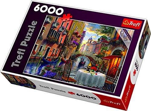 Trefl 65003 Puzzles 6000 Puzzels, farbig