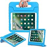 DMG New iPad Cover for Kids, Shockproof Lightweight Protective Back Cover Stand Case