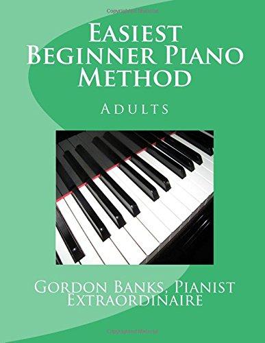 'Easiest' Beginner Piano Method: Gordon Banks Method