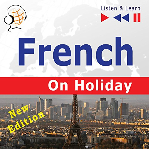 French on Holiday - Conversations de vacances - New edition. Proficiency level B1-B2 cover art