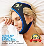 Premium Anti Snore Chin Strap - Advanced Snoring Solution Scientifically Designed to Stop Snoring Naturally and Give You The Best Sleep of Your Life (blue6)