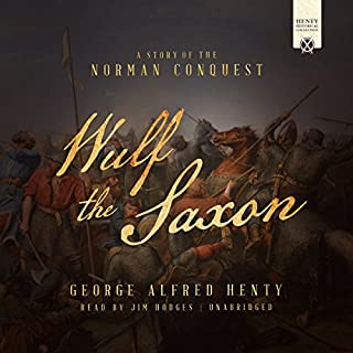 Wulf the Saxon audiobook cover art