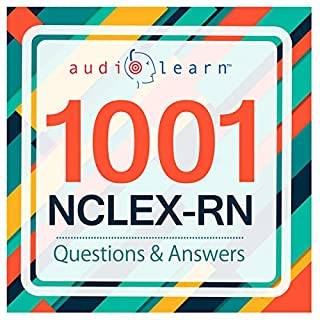 1001 NCLEX-RN Questions! audiobook cover art
