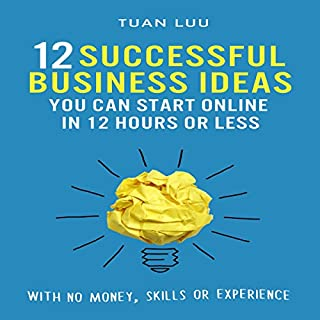 12 Successful Business Ideas You Can Start Online in 12 Hours or Less cover art