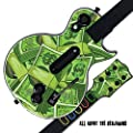 Mightyskins Protective Skin Decal Cover Sticker Compatible with Guitar Hero 3 III PS3 Xbox 360 Les Paul - All About The Benjamins by MightySkins