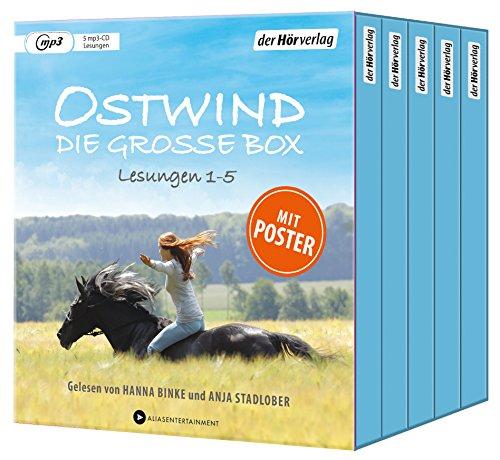 Ostwind. Die große Box: Die Lesungen 1-5 (Ostwind - Die Hörbuch-Sammeleditionen, Band 1)