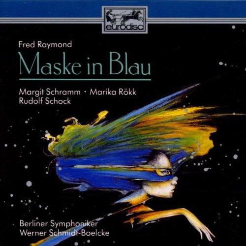 Raymond: Maske in Blau (Querschnitt)
