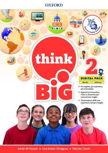 Think big 2. Student's book-Workbook + magazine & extra book con QR code + 5 ereade. Per la Scuola media. Con e-book. Con espansione online (Vol. 2)