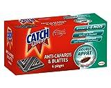 CATCH - Trampas de cucarachas, juego de 6 contaminadores contra cucarachas