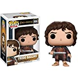 Funko Frodo Baggins: Lord of The Rings x POP! Movies Vinyl Figure & 1 POP! Compatible PET Plastic Graphical Protector Bundle [#444 / 13551 - B]