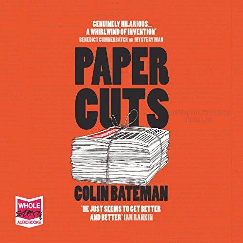 Papercuts audiobook cover art