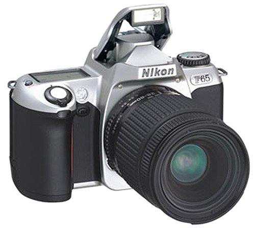 Nikon F65 Spiegelreflexkamera Silber inkl. Nikon-Objektiv 28-80mm