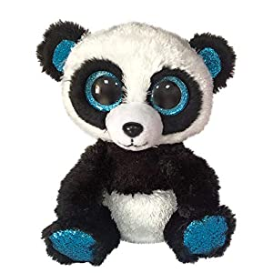 TY T36463 Bamboo Panda-Boo MED, Multicolored