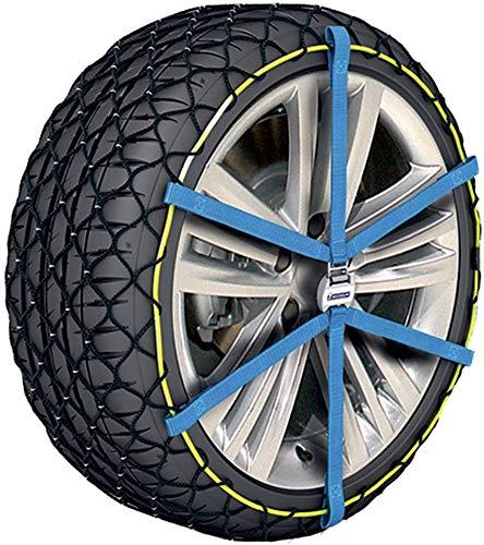 La cadena antideslizante del material compuesto solo es adecuado para vehículos con cadenas,Blue