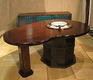 ビーンズ型 囲炉裏ダイニング・座卓テーブル160cm