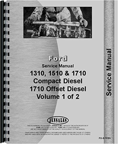 ford 1710 service manual - 2