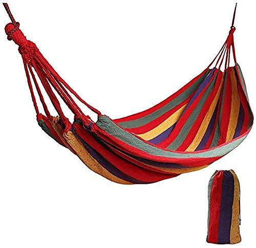 Hamocks Swing Silla Haa Silla para Niños Camping Travel Portátil Swing Lienzo Cama en Patio Patio Veranda Jardín Colgando Fácil de almacenar Gymqian