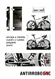 Antirrobo Bicicleta Pared