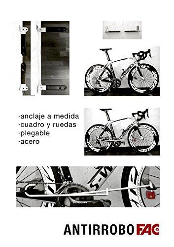 Antirrobo Bicicleta Pared