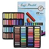 Tavolozza Soft Pastel Drawing Chalk 48 colores surtidos