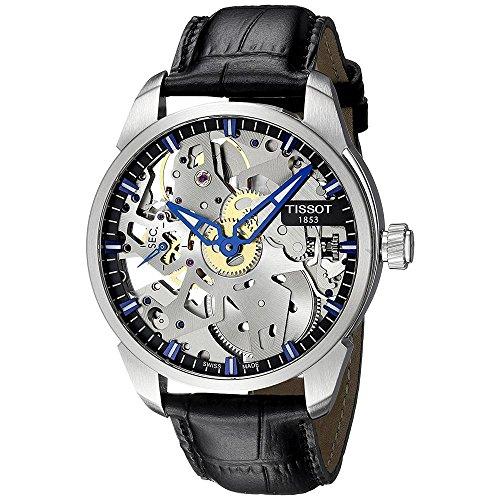 Tissot T070.405.16.411.00 - Reloj para Hombres, Correa de Cuero
