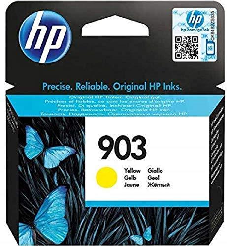 HP 903 cartouche d'encre jaune authentique pour HP OfficeJet Pro 6950/6960/6970 (T6L95AE)