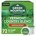 Green Mountain Coffee Vermont Country Blend, Keurig K-Cups, 72 Count