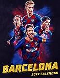 """FC Barcelona Calendar 2022: Soccer Calendar 2022-SPORT Calendar 2022-2023 – 18 months – BIG SIZE 17""""x11"""". Planner for all fans kids boys"""