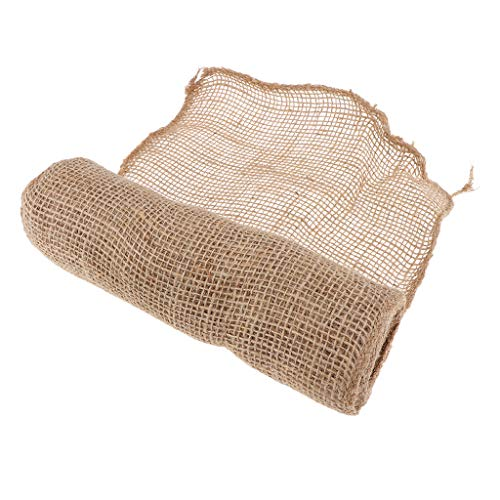 B Blesiya Housse d'hivernage Bandage Plante Jute Couverture Toile Jute