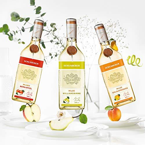 Schladerer Milder Bergapfel, feiner Digestif aus dem Schwarzwald, mild und fruchtig-frisch dank Äpfeln aus Höhenlagen (1 x 0.7 l) - 5