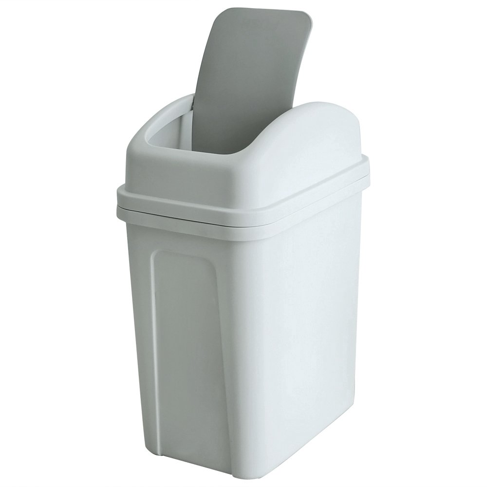 Teyyvn 7 Liter High quality new 1.8 Gallon Plastic Garbage Can store Trash Small